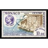 Sello de Mónaco Correo aéreo N° 80 nueve sin bisagra