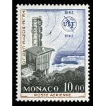 Francobollo di Monaco posta aerea N° 84 nove senza cerniera