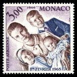 Timbre de collection de Monaco PA N° 85 neuf sans charnière