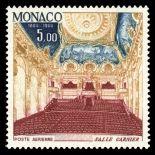 Sello de Mónaco Correo aéreo N° 86 nueve sin bisagra