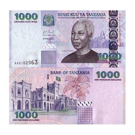 Billets banque Tanzanie Pk N° 36 - 1000 Shilings