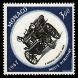 Timbre de collection de Monaco PA N° 91 neuf sans charnière