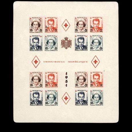 Timbre Monaco BF N° 4B neuf sans charnière