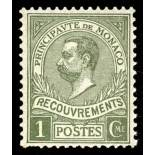 Timbre de collection de Monaco Taxe N° 8 neuf sans charnière