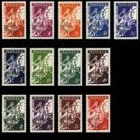 Timbre de collection de Monaco Préo N° 11/18 neuf sans charnière