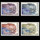 Francobollo di Monaco Preobliterati N° 30/33 nove senza cerniera