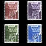 Francobollo di Monaco Preobliterati N° 38/41 nove senza cerniera