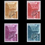 Monaco Briefmarken Vorstempel N° 42/45 Postfrisch