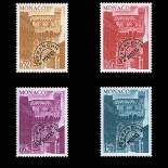 Francobollo di Monaco Preobliterati N° 42/45 nove senza cerniera