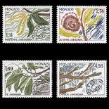 Francobollo di Monaco Preobliterati N° 94/97 nove senza cerniera