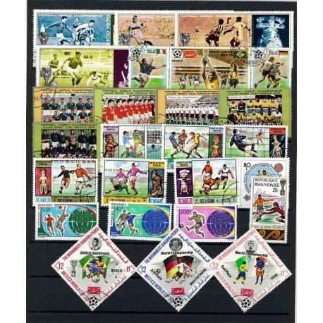Mexiko-Stadt 70 Fuß: 25 verschiedene Briefmarken