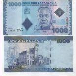 Schone Banknote Tansania Pick Nummer 40 - 500 Shilling