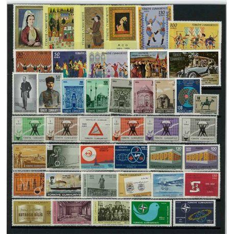 Turquie 1969 Année complète neuve