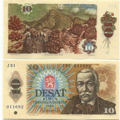 Billets de collection Billet de collection Tchecoslovaquie Pk N° 94 - 10 Korun Billets de Tchecoslovaquie 6,00 €