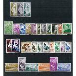 Timbre Espagne années complètes 1957/1958 neuves
