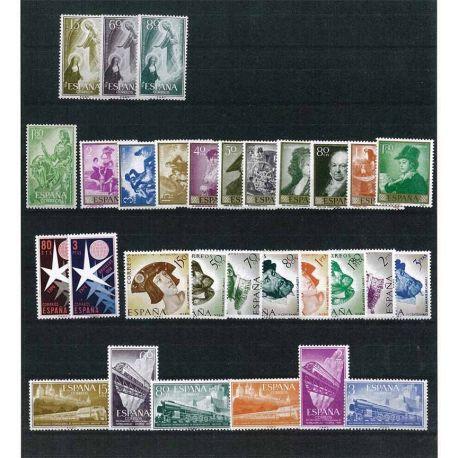 Espagne 1957-1958 Années complètes neuves