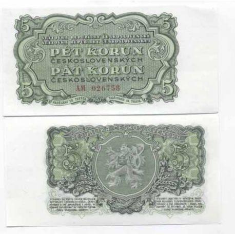 Tchecoslovaquie - Pk N° 82 - Billet de 10 Korun