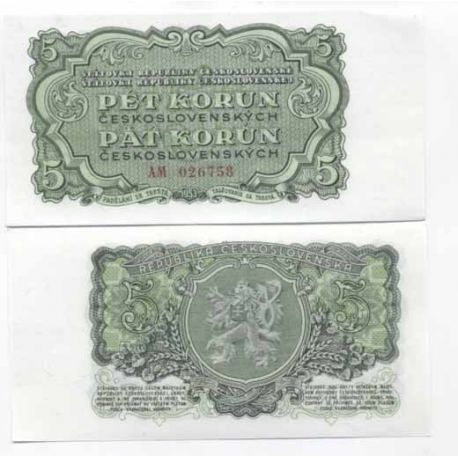 Billets de collection Billet de banque Tchecoslovaquie Pk N° 82 - 10 Korun Billets de Tchecoslovaquie 5,00 €