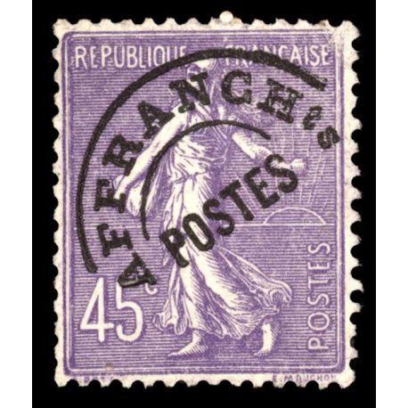 Timbre préoblitérés France N° 46 neuf sans charnière