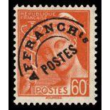 Pre cancel stamp N° 83 Mint NH