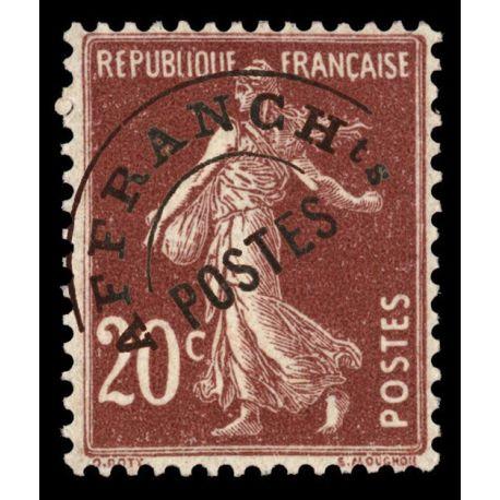 Timbre préoblitérés France N° 54 neuf sans charnière