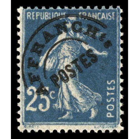 Timbre préoblitérés France N° 56 neuf sans charnière