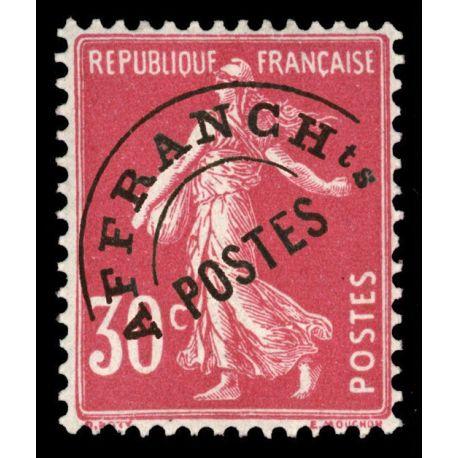 France Préo N° 59 Neuf(s) sans charnière