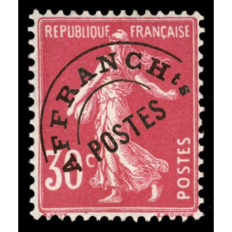 Timbre préoblitérés France N° 59 neuf sans charnière