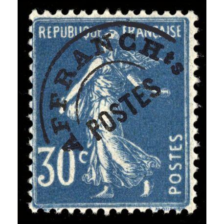Timbre préoblitérés France N° 60 neuf sans charnière