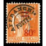 Timbre préoblitérés France N° 74 neuf sans charnière