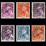 Timbres préoblitérés France Série N° 78/83 neuf sans charnière