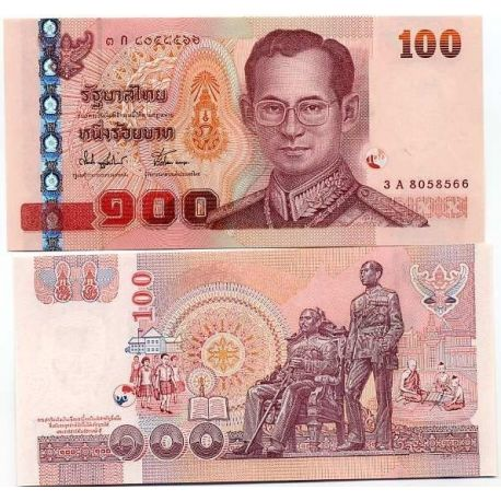 Billets collection Thailande Pk N° 113 - 100 Baht