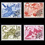 Timbres préoblitérés France Série N° 154/57 neuf sans charnière
