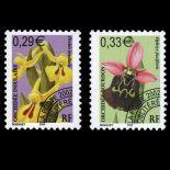 Reihe von Pre storniert Briefmarken N ° 244/45 Postfrisch