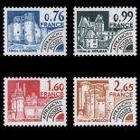 Timbres préoblitérés France Série N° 166/69 neuf sans charnière