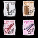 Timbres préoblitérés France Série N° 228/31 neuf sans charnière