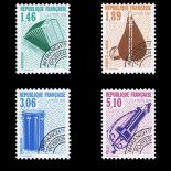 Timbres préoblitérés France Série N° 206/09 neuf sans charnière