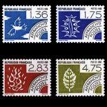Serie di pre annulla francobolli N ° 198/01 Nuevo non linguellato