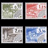 Serie di pre annulla francobolli N ° 174/77 Nuevo non linguellato