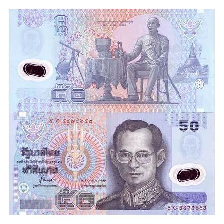 Billets de collection Billets de banque Thailande Pk N° 102 - 50 Baht Billets de Thailande 8,00 €