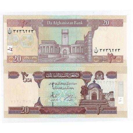Afghanistan - Pk N° 68 - Billet de 20 Afghanis