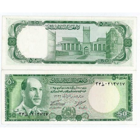 Billets de collection Billet de banque Afghanistan Pk N° 43 - 50 Afghanis Billets d'Afghanistan 28,00 €