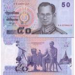 Banknoten Sammlung Thailand Pick Nummer 112 - 50 Baht