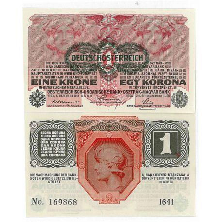 Autriche - Pk N° 49 - Billet de 1 Kronen