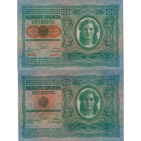 Billets de collection Billet de collection Autriche Pk N° 56 - 100 Kronen Billets d'Autriche 18,00 €
