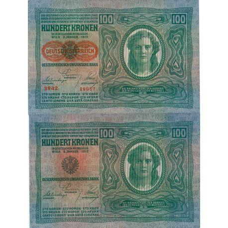 Autriche - Pk N° 56 - Billet de 100 Kronen