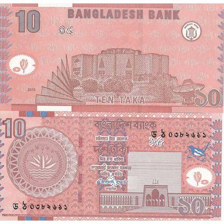 Billets de banque Bangladesh Pk N° 39 - 10 Taka