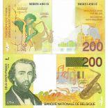 Banknote Belgium Pick number 148 - 200 FRANC 1992