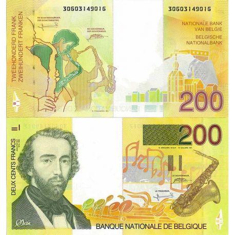 Belgique - Pk N° 148 - Billet de 200 Francs