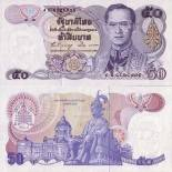Banknote collection Thailand Pick number 90 - 50 Baht
